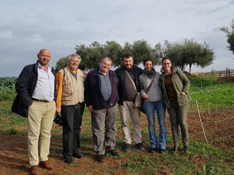Gardeniser Pro kick-off meeting Rome