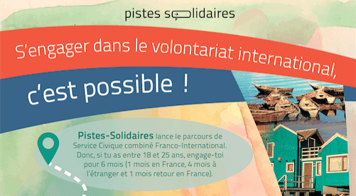 volontariat international pistes solidaires