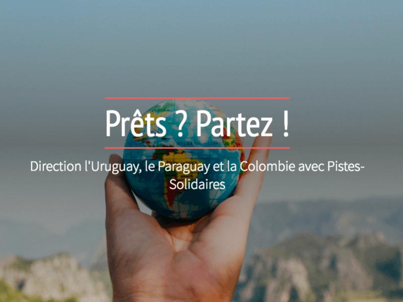 SVE Monde Erasmus plus Uruguay Paraguay Colombie