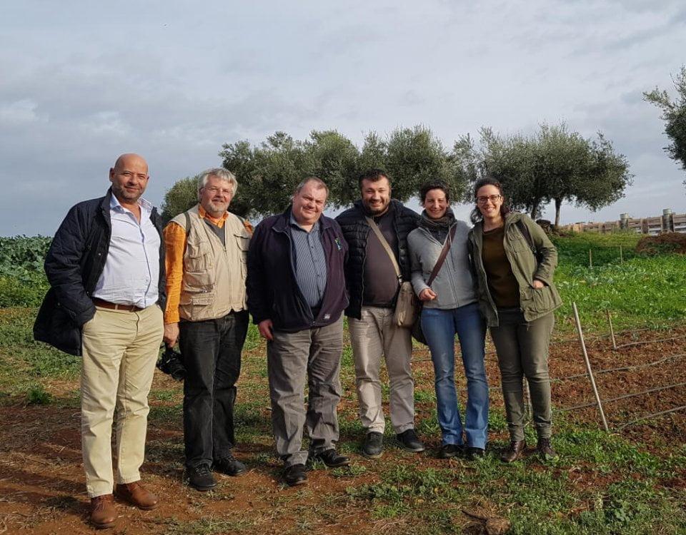 Gardeniser Pro kick-off meeting Rome