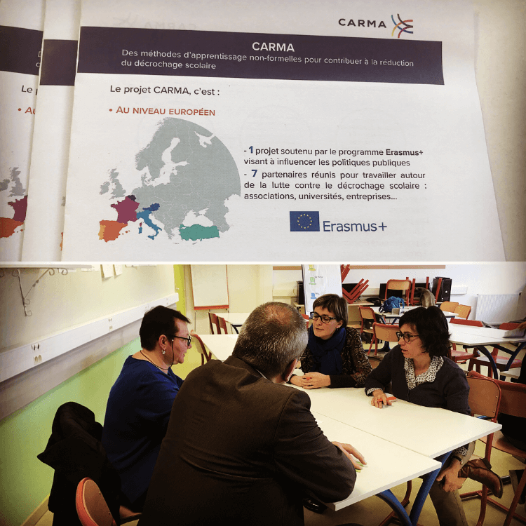 CARMA FORUM EDUCATIF POUILLON ERASMUS PLUS