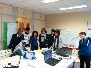 GROUPE TELL YOUR STORY PAU PISTES SOLIDAIRES MISSION LOCALE