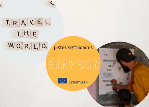 SIMPSON SITE WEB PISTES SOLIDAIRES SVE ERASMUS+