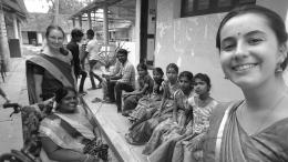 Volontaires Service Civique en Inde école non-formelle