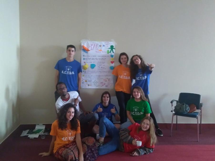 Groupe de volontaires Roumanie Corps Européen de Solidarité