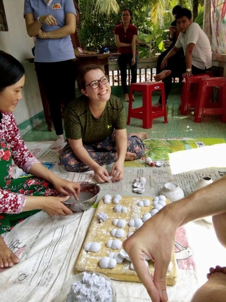 Volontariat Service Civique Vietnam repas culture